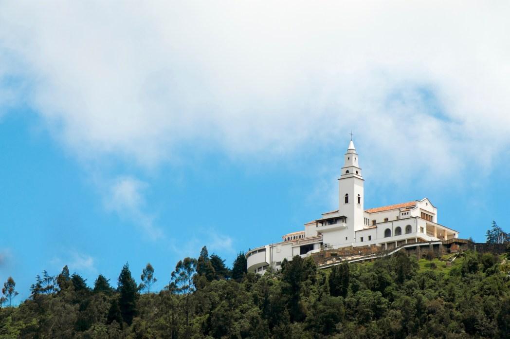 iglesia del cerro de monserrate