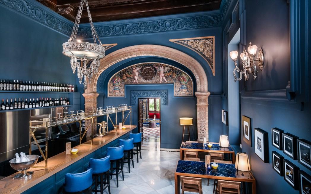 Hotel Alfonso XIII Sevilla restaurante