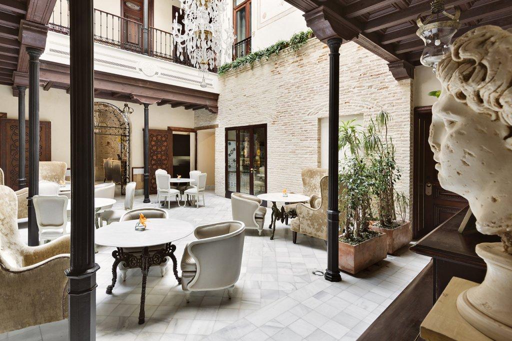 Hotel Casa 1800 Sevilla restaurante
