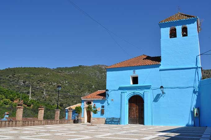 Júzcar pueblo pitufo Andalucía © CEDER Serranía de Ronda / Flickr
