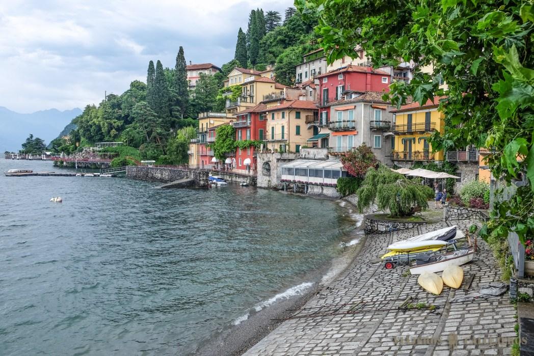 lago como en italia foto de viajeros callejeros