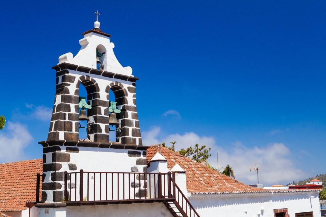iglesia de la candelaria en tijarafe en la isla de la palma