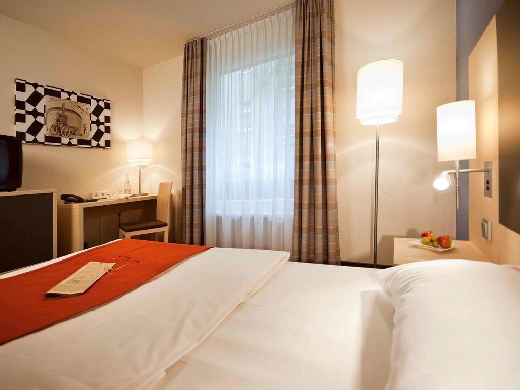 habitación del Mercure Hotel Berlin City West en Berlín