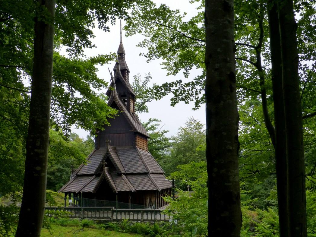 iglesia de fantoft en bergen