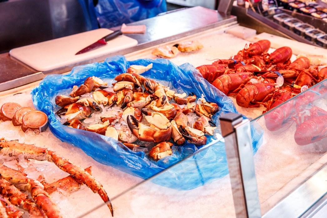 mercado del pescado de bergen