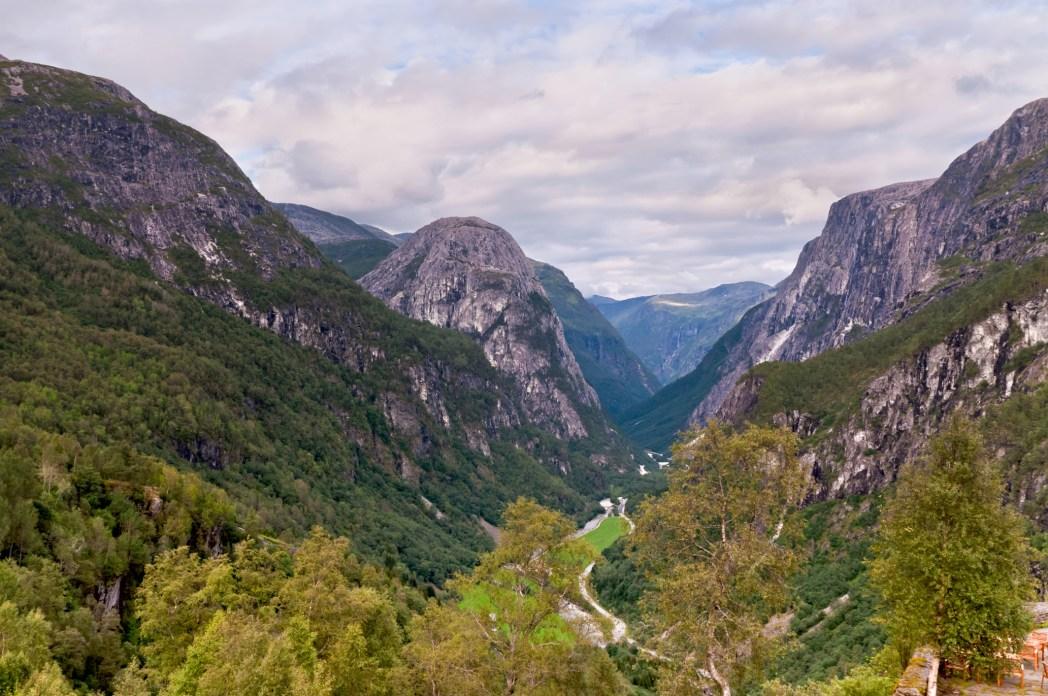 valle de Naeroy en noruega