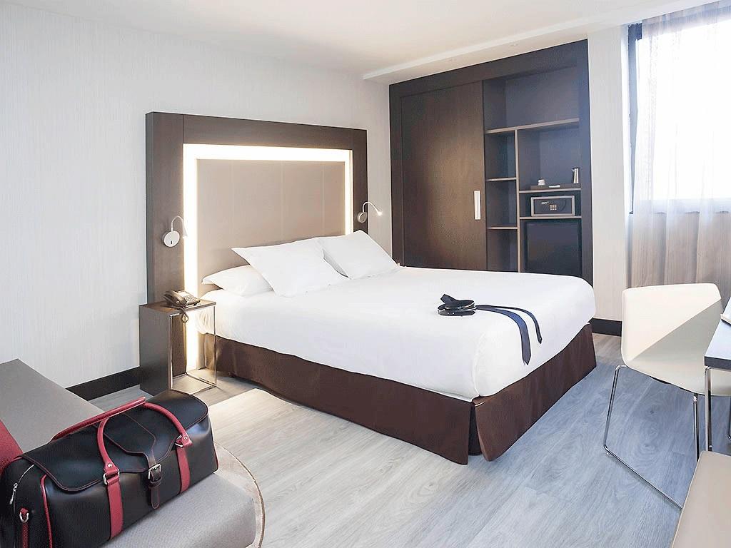 Habitación del Novotel Madrid Center