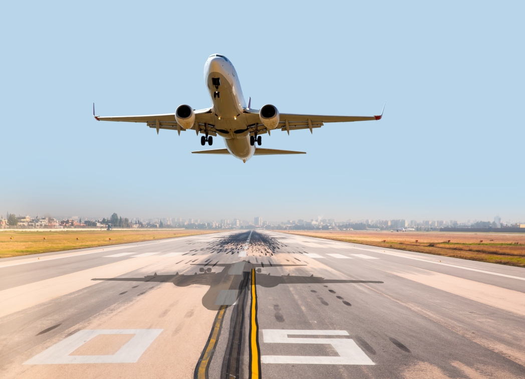 avión despegar