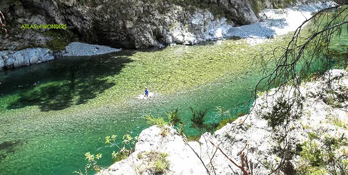 Río Pelorus Nueva Zelanda Hobbit