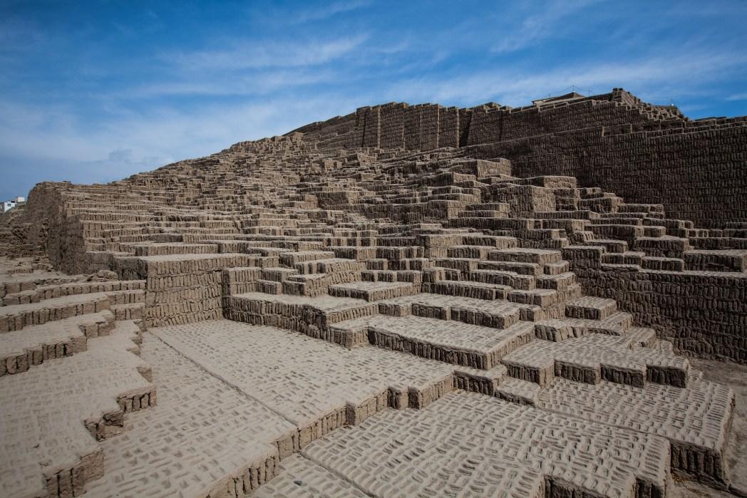 Huaca Pucllana, Lima, Perú