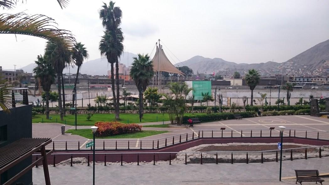 Parque de la Muralla, Lima, Perú