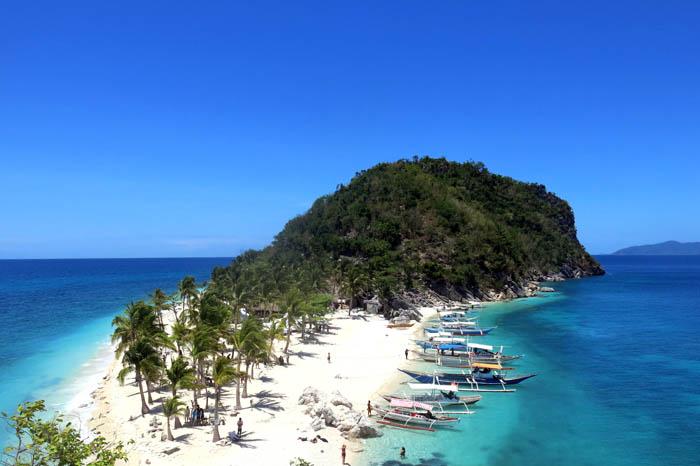 isla cabugao en Filipinas