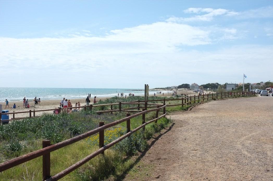 playa con dunas