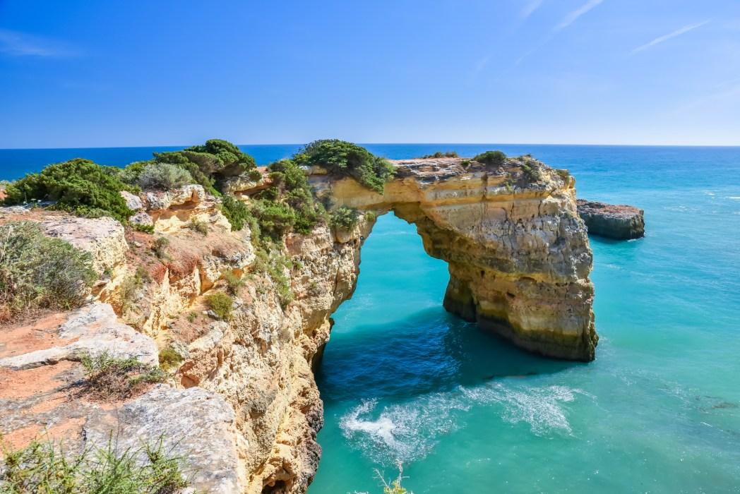 Arco de Albandeira, Algarve, Portugal