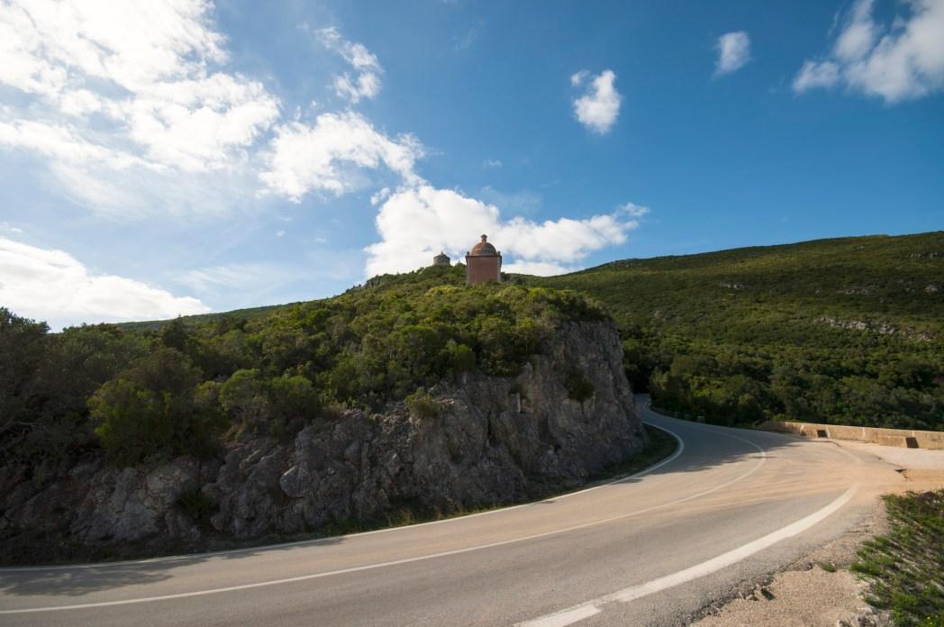 carretera en la sierra