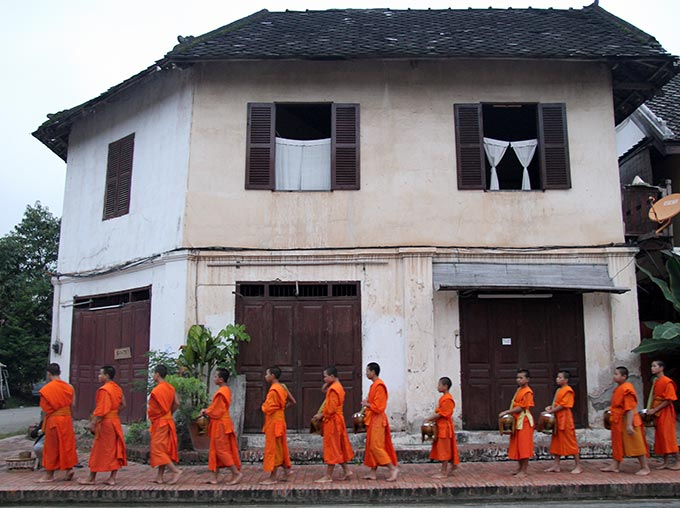 templos de luang prabang en laos