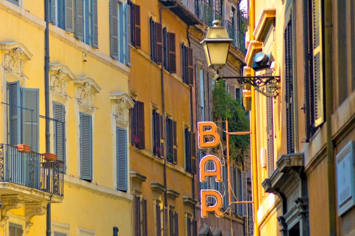 Bar en Roma