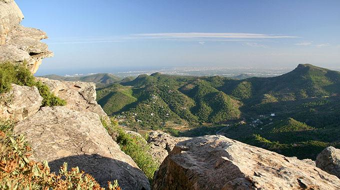 Parque natural sierra calderona valencia