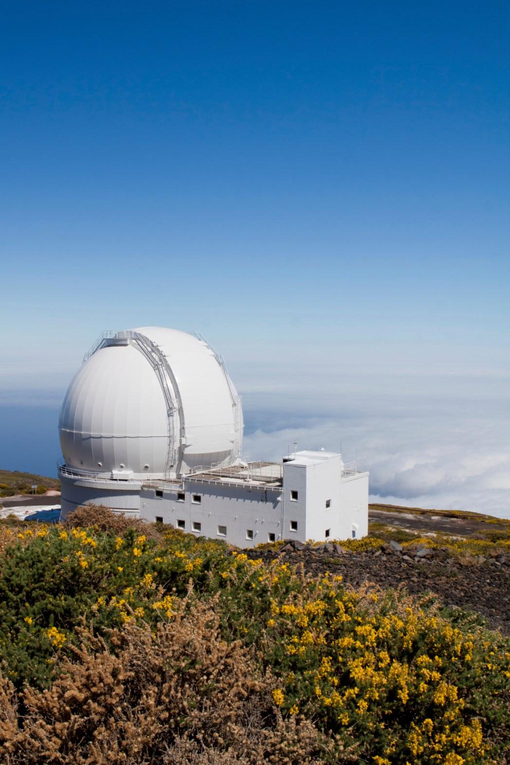 observatorio astronómico del roque de los muchachos en la palma