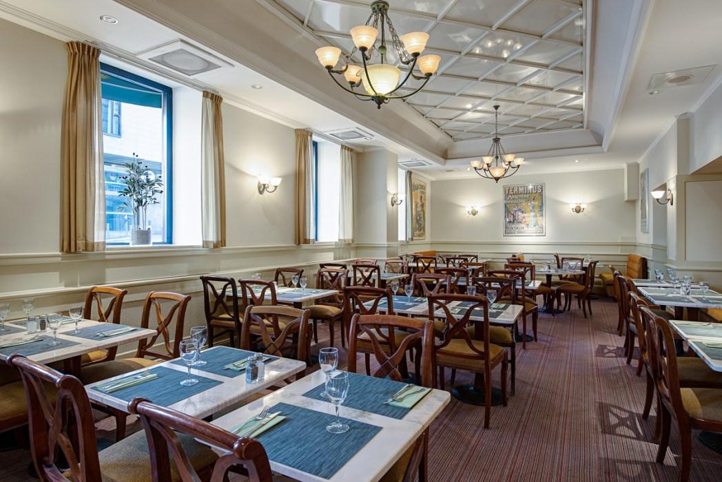 Restaurante hotel Terminus