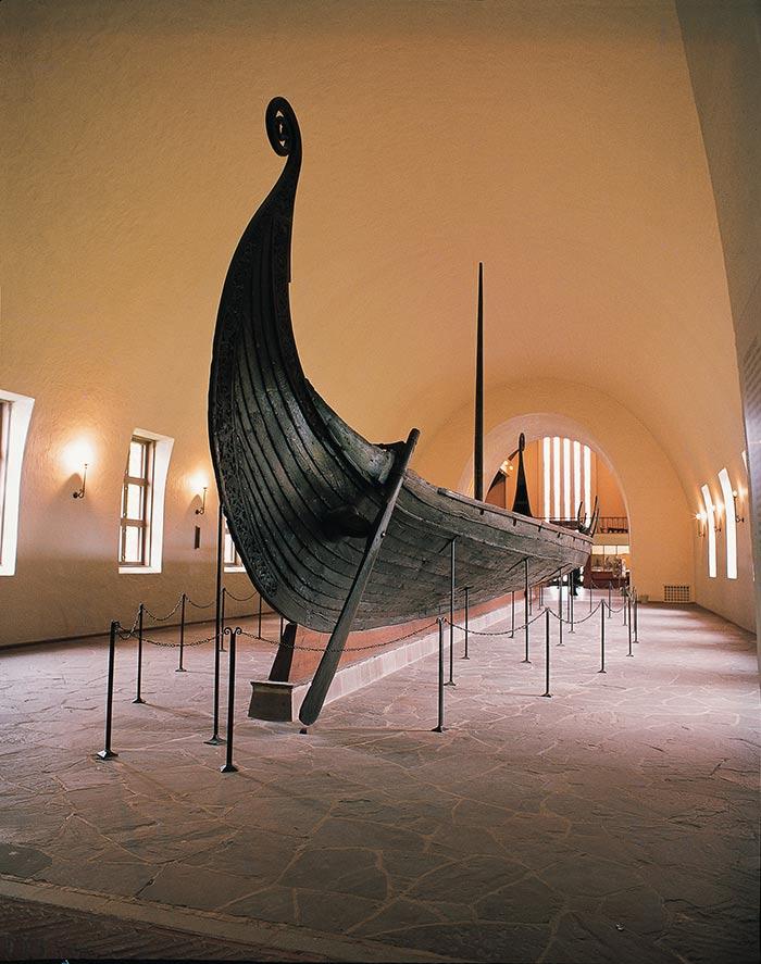 Museo de los barcos vikingos en oslo noruega