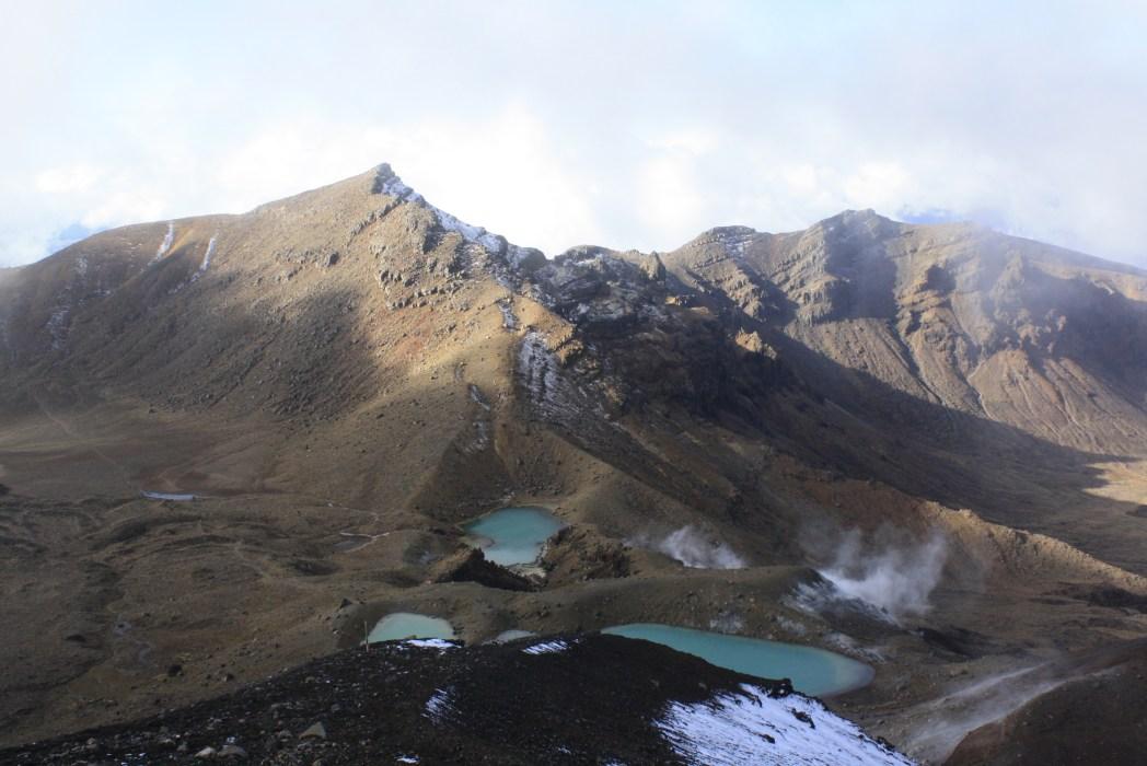 """Los lagos esmeralda en el parque nacional de Tongariro, también conocido como """"Mordor"""""""