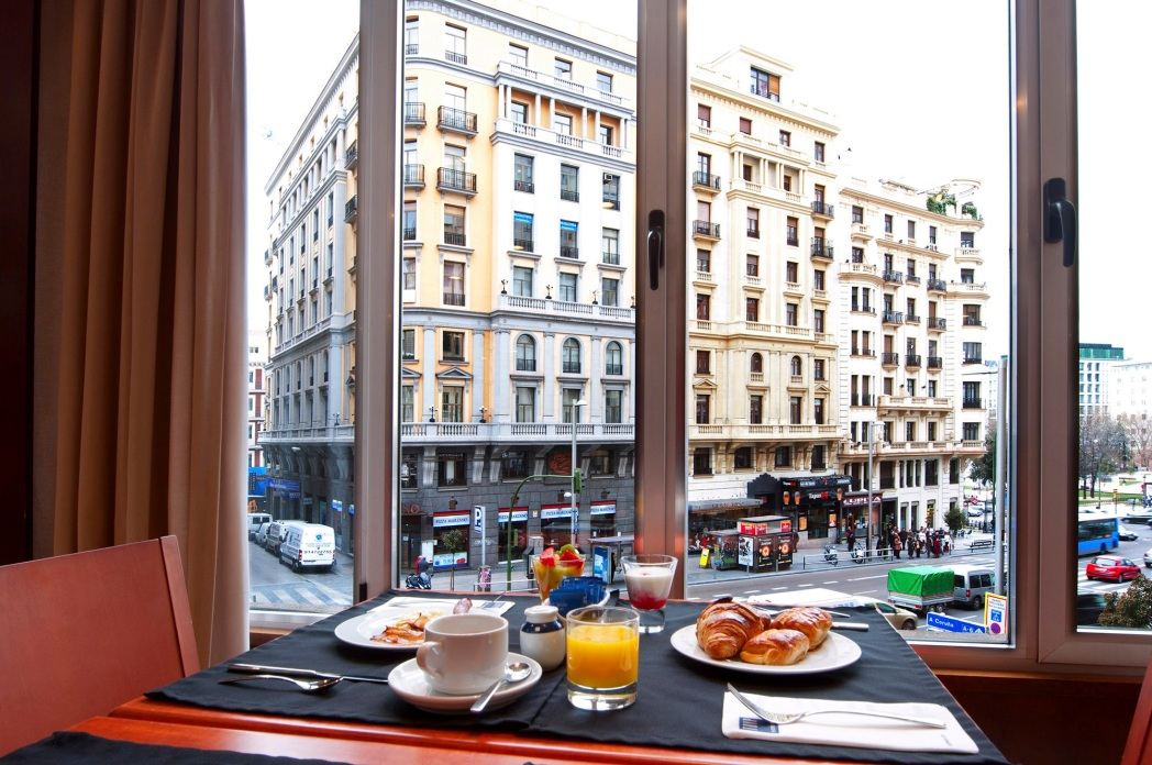 Vistas desde el Tryp Madrid Plaza de España