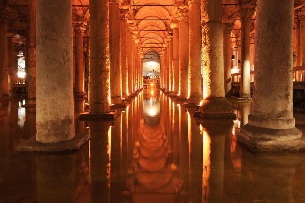 Cisternas romanas de Estambul