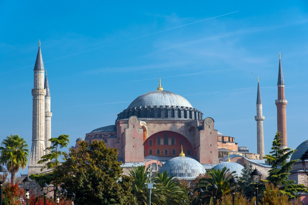 La mezquita iglesia Santa Sofía