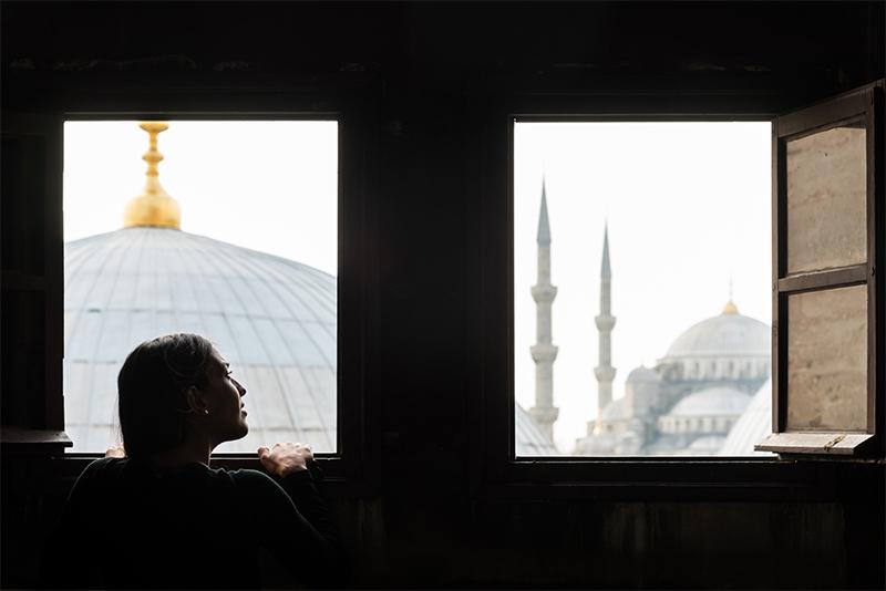 estambul, mezquita azul