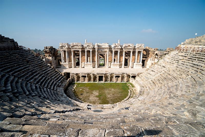 ruinas de hierapolis, turquía