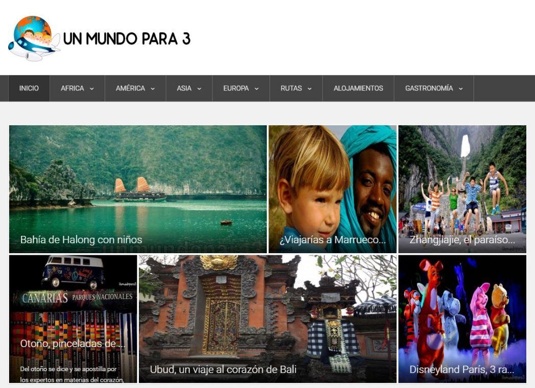 blog un mundo para tres