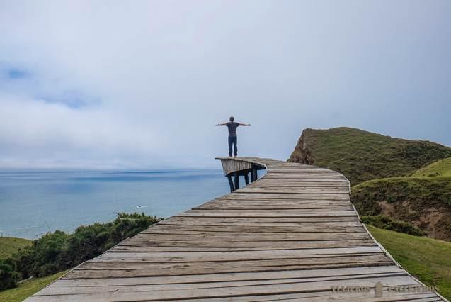 Muelle de las Almas en Chiloé