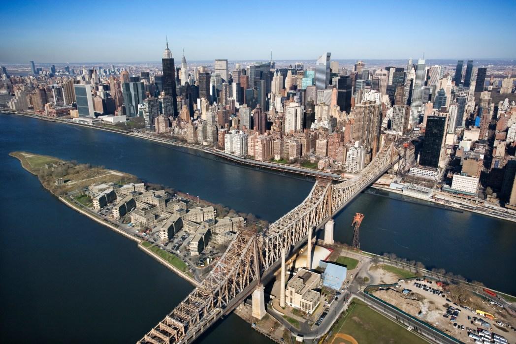 Manhattan a vista de pájaro