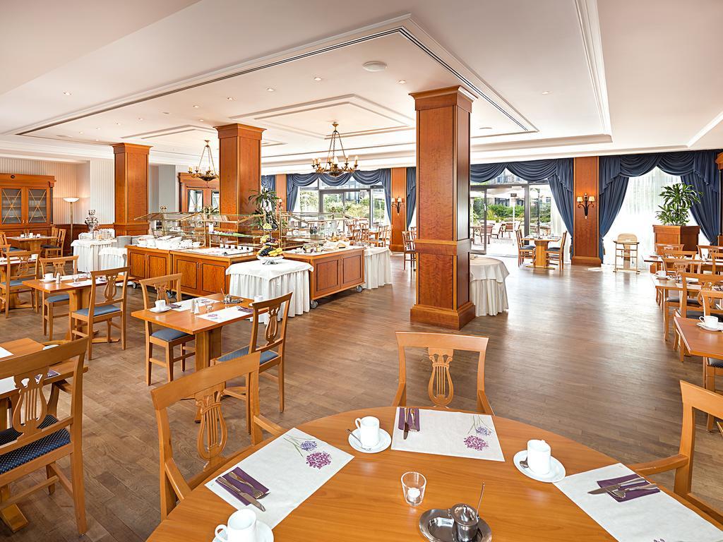 restaurante del hotel Victor´s Residenz Hotel Berlin en Berlín