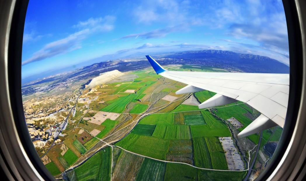 Vista desde un avión